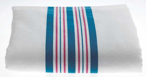 BABY BLANKETS, PINK AND BLUE STRIPES BY ADI™
