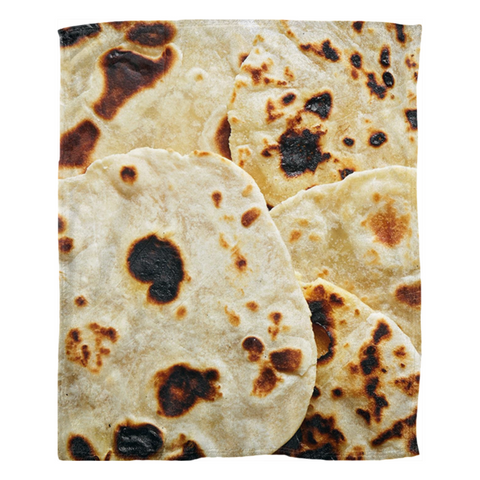 Image of Fleece Blankets Tortilla - ARKGROUND COUTURIER