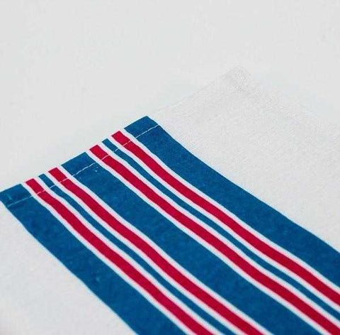 BABY BLANKETS, PINK AND BLUE STRIPES