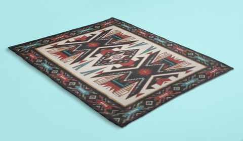 Image of Sand Painting Blanket by Arkground