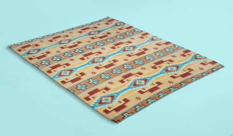 Image of Wide Ruins™ Plush Blanket ARKGROUND COUTURIER - ARKGROUND COUTURIER