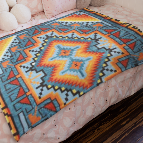 Image of Ganado™ Plush Blanket ARKGROUND COUTURIER - ARKGROUND COUTURIER
