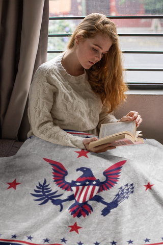 Liberty™ Fleece Blanket - ARKGROUND COUTURIER