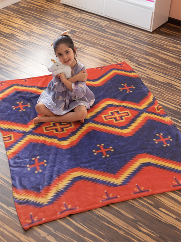 Image of Toadlena Blanket by Arkground