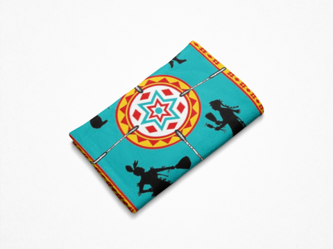 Image of We Dance™ Fleece Blanket Authentic Native American Pattern Design - ARKGROUND COUTURIER