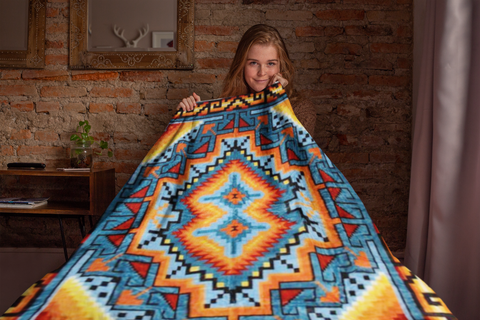 Image of Ganado Blanket by Arkground