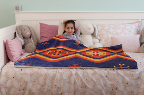 Image of Toadlena™ Plush Blanket ARKGROUND COUTURIER - ARKGROUND COUTURIER