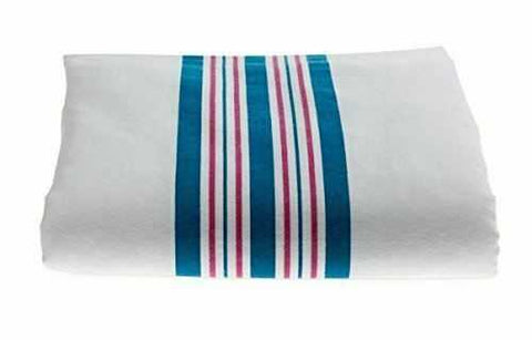BABY BLANKETS, PINK AND BLUE STRIPES BY ADI™ - ARKGROUND COUTURIER