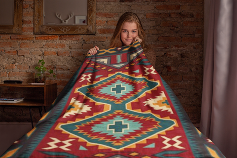 Image of Gando Red Blanket by Arkground