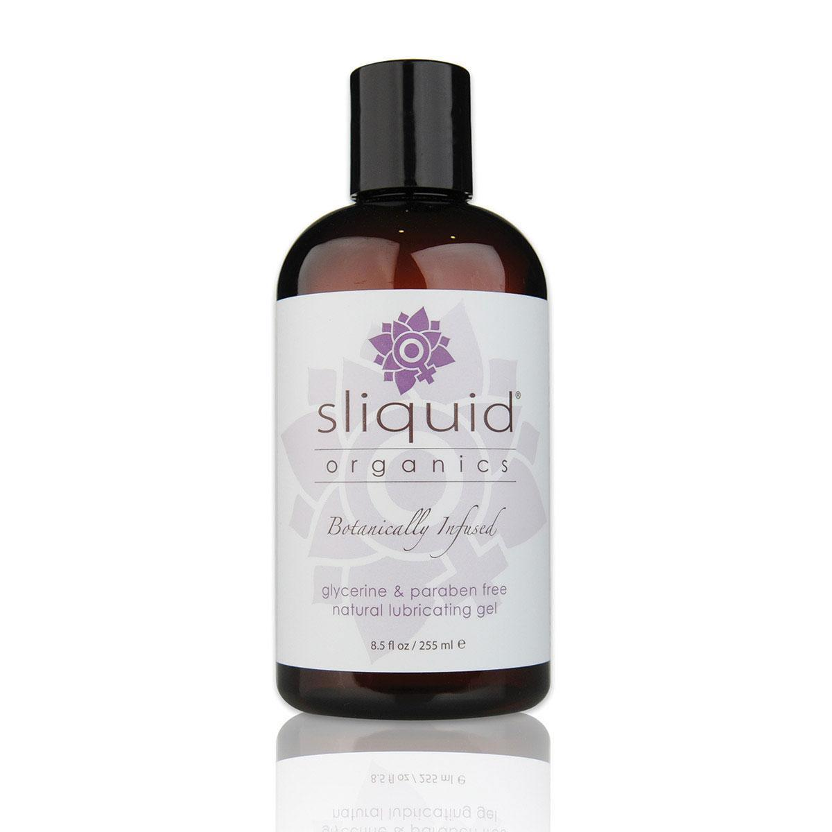 Light Gray Sliquid Organics Natural Gel 8.5oz