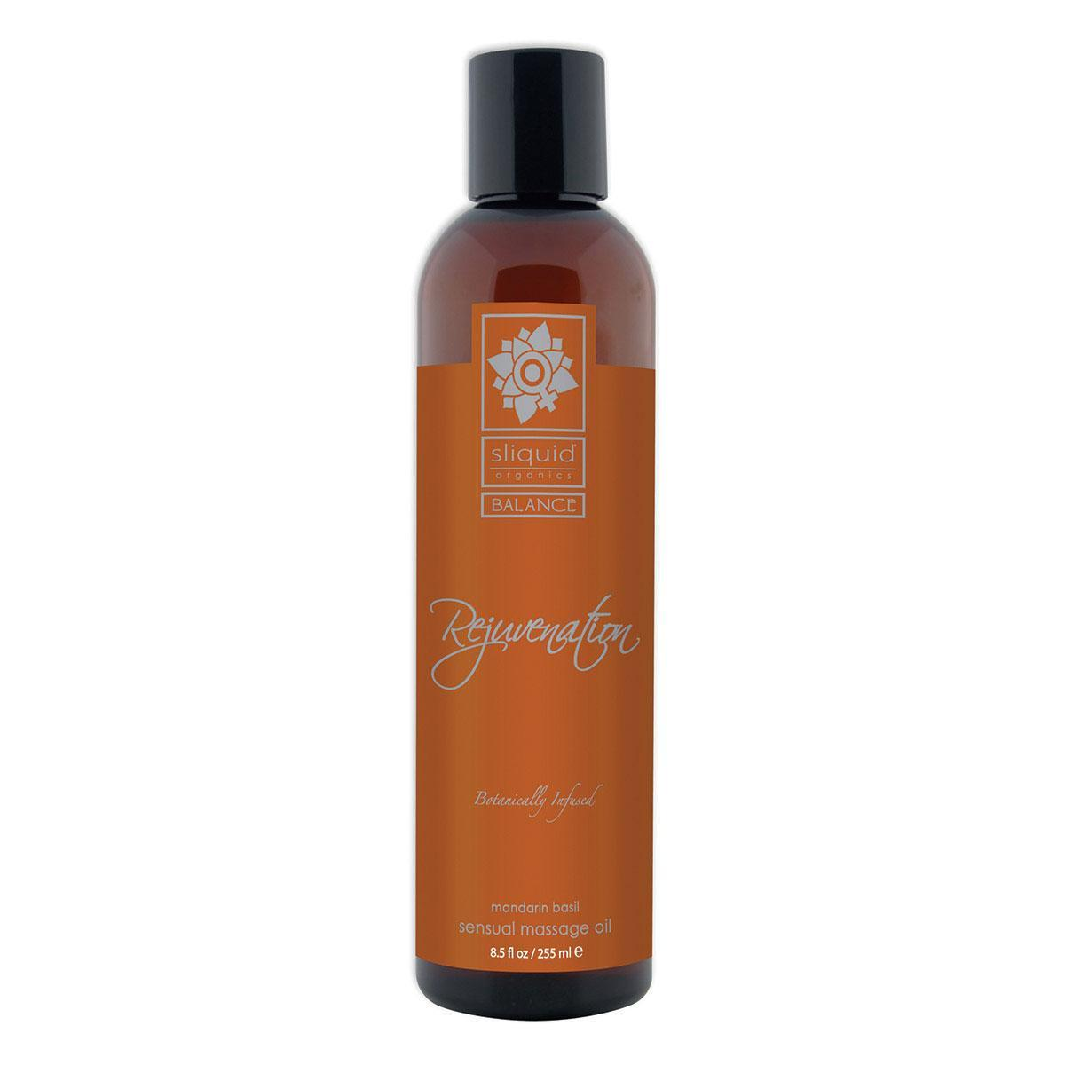 Sienna Sliquid Organics Massage Oil Rejuvenation 8.5oz