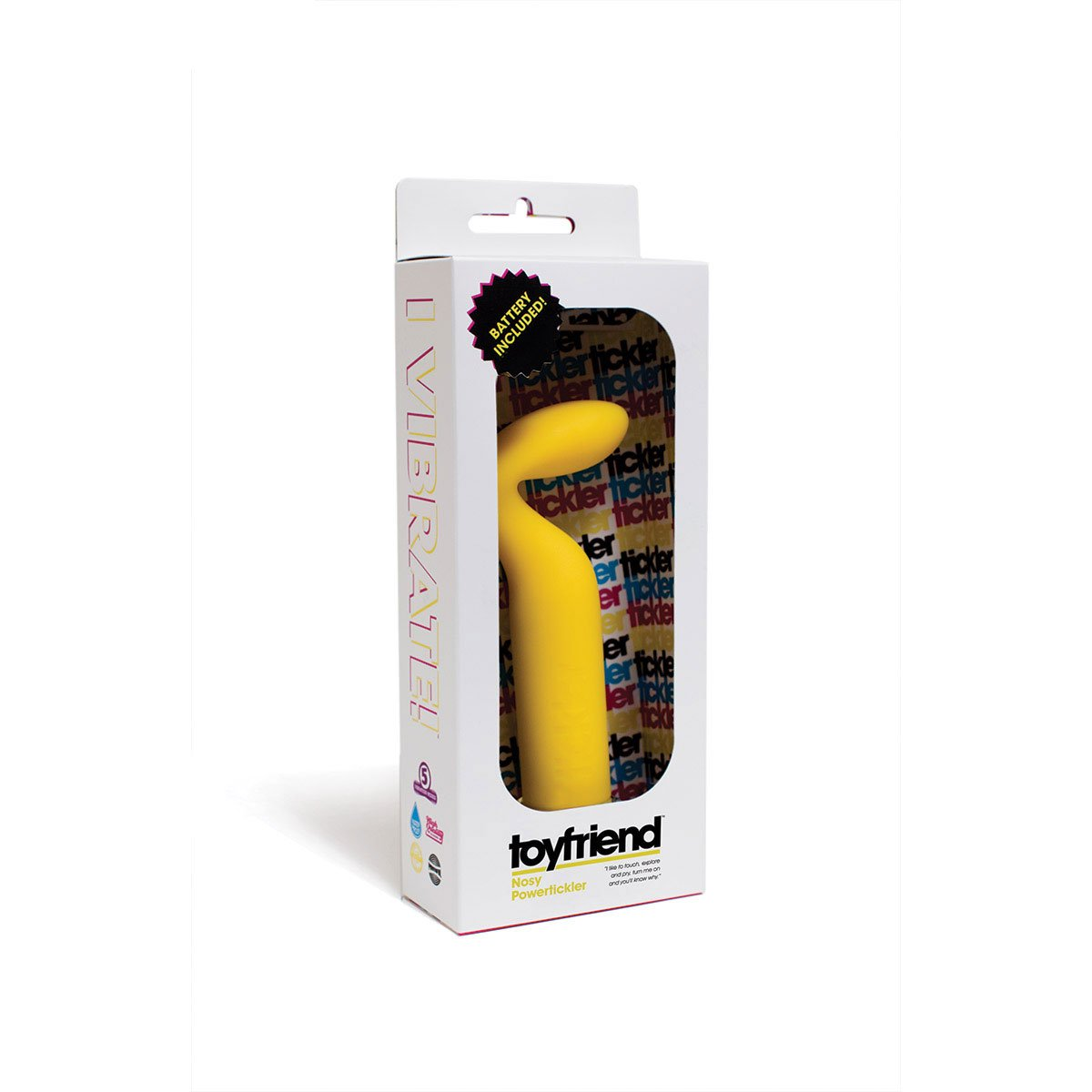 Goldenrod Power Toyfriend - Nosy Yellow