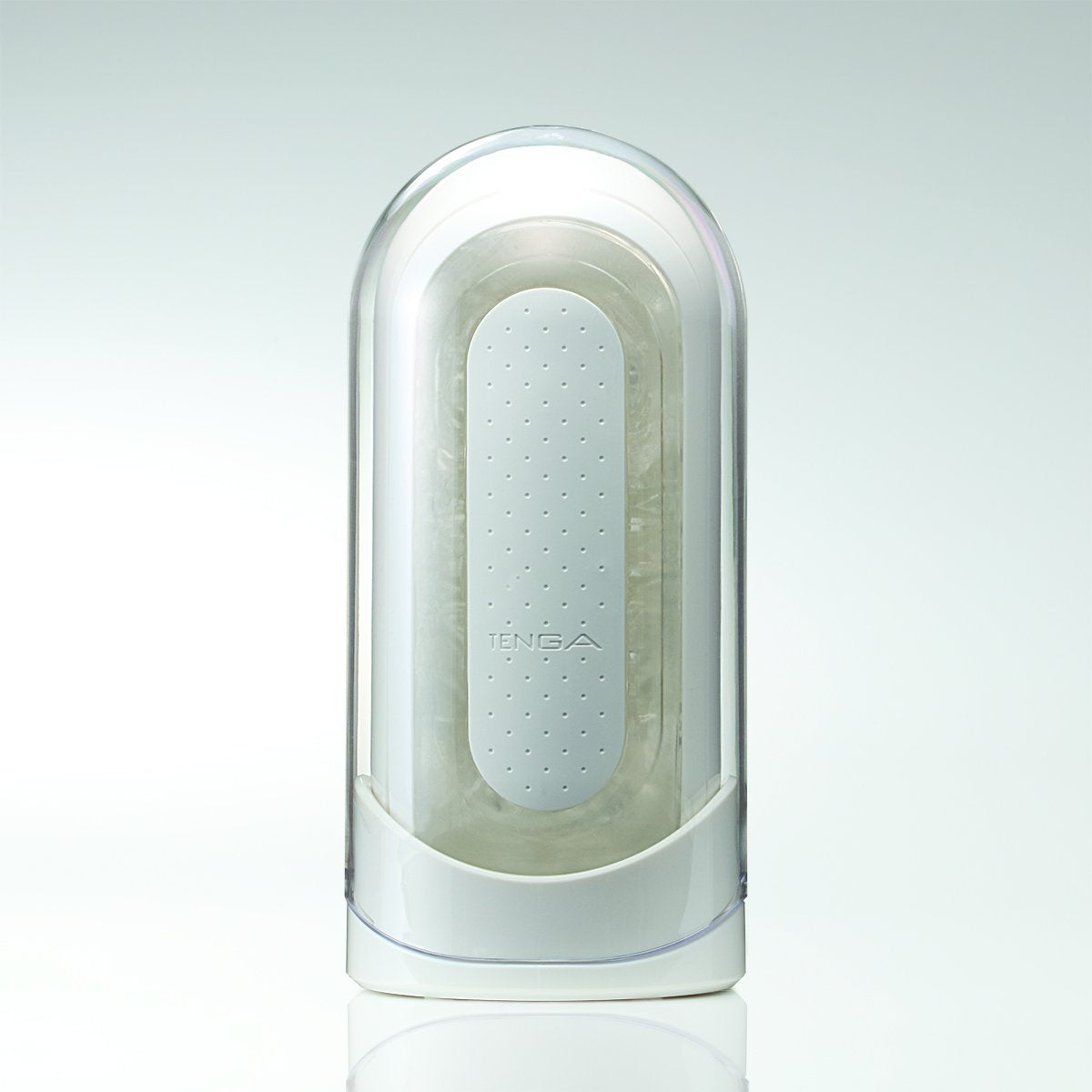 Gray Tenga Flip Zero Vibrating - White