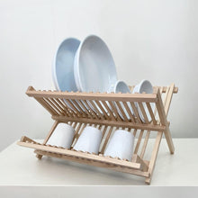 Load image into Gallery viewer, Wooden Dish Rack