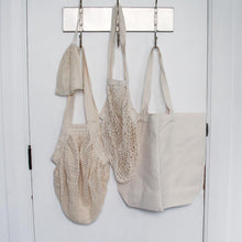 Load image into Gallery viewer, Cotton String Bag | Long Handle