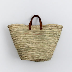 French Market Bag / Flat Handle / Large
