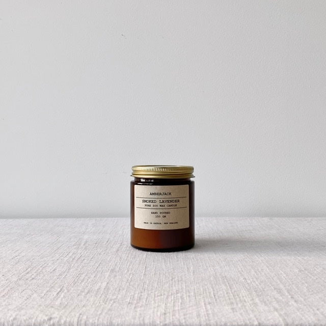 Smoked Lavender Soy Candle 150g