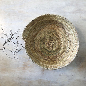Round Moroccan Table Basket
