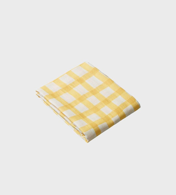 Nature Wrap Muslin Wrap / Lemon Check