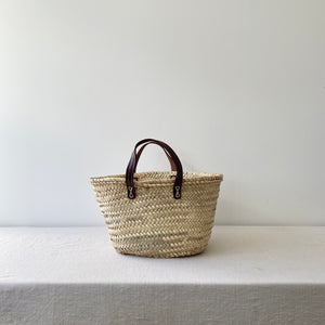 French Market Bag / Flat Handle / Small