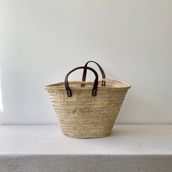 French Market Bag / Flat Handle / Medium