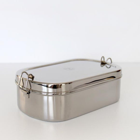 Stainless Steel Jumbo Oval Lunchbox