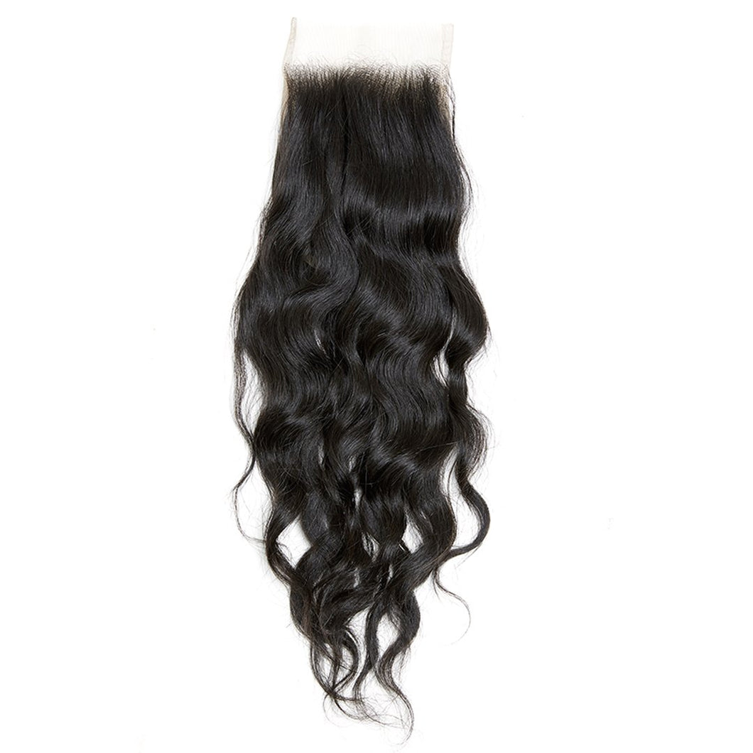 Queen Water Wavy Closure