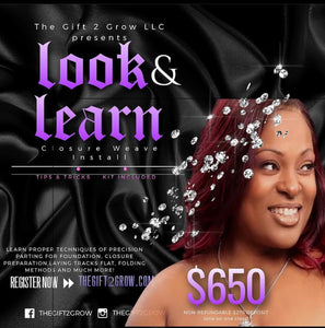 Closure Weave Install 1-on-1 Class