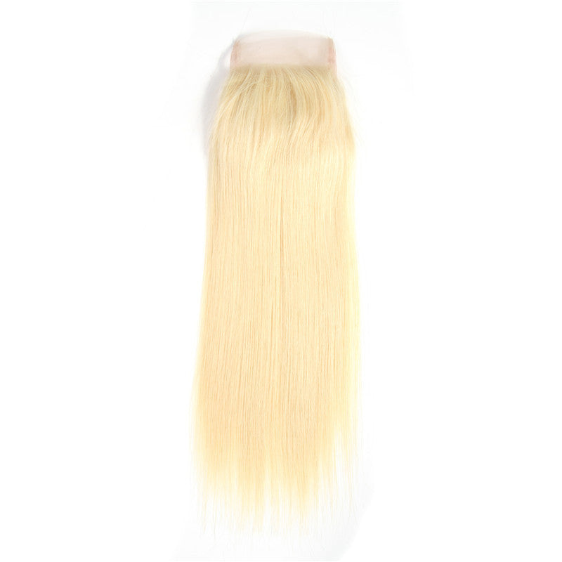 Queen Straight Closure (Blonde)