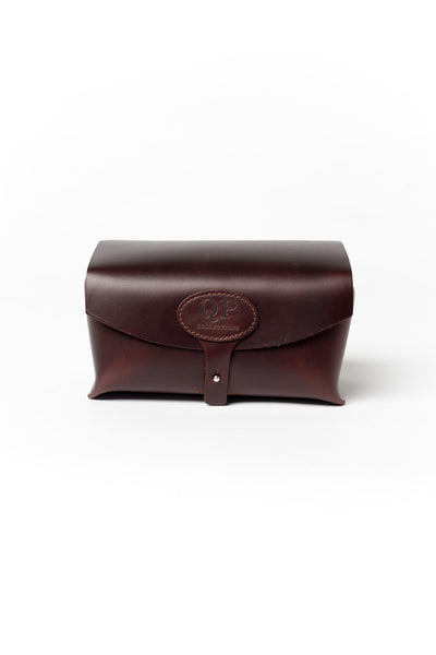 Men's Brown Toiletry Case