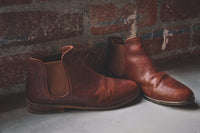 The Ronan by Hound & Hammer, in Cognac Leather