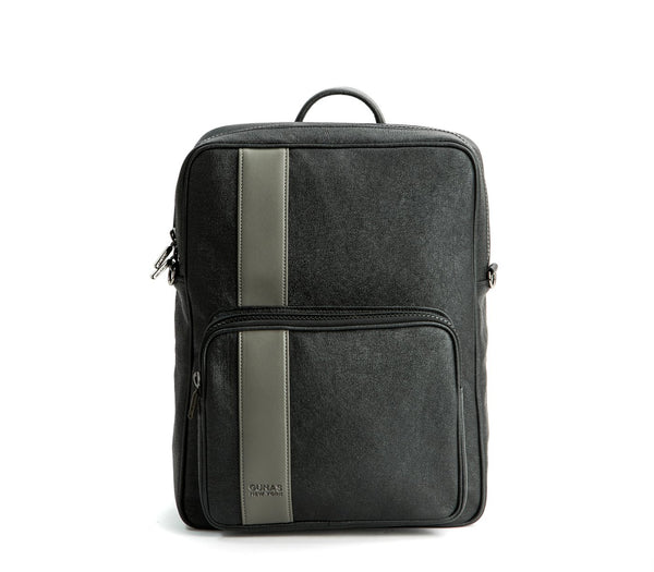 Men's Vegan Leather Backpack