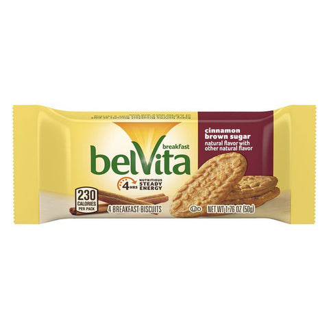 belVita Cinnamon Brown Sugar Breakfast Biscuits - 1.76oz