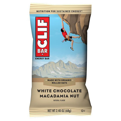 Cliff Bar White Chocolate Macadamia Nut - 2.4oz