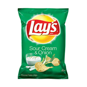Lay's Sour Cream & Onion Potato Chips - 1.5oz