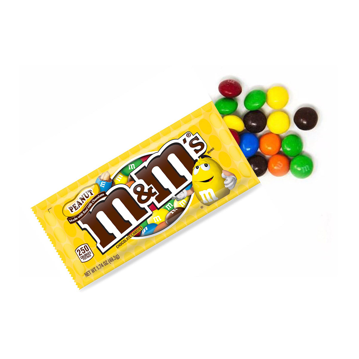 M&M's Peanut Milk Chocolate - 1.74oz