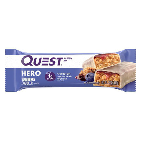 Quest Bar Blueberry Cobbler - 2.12oz