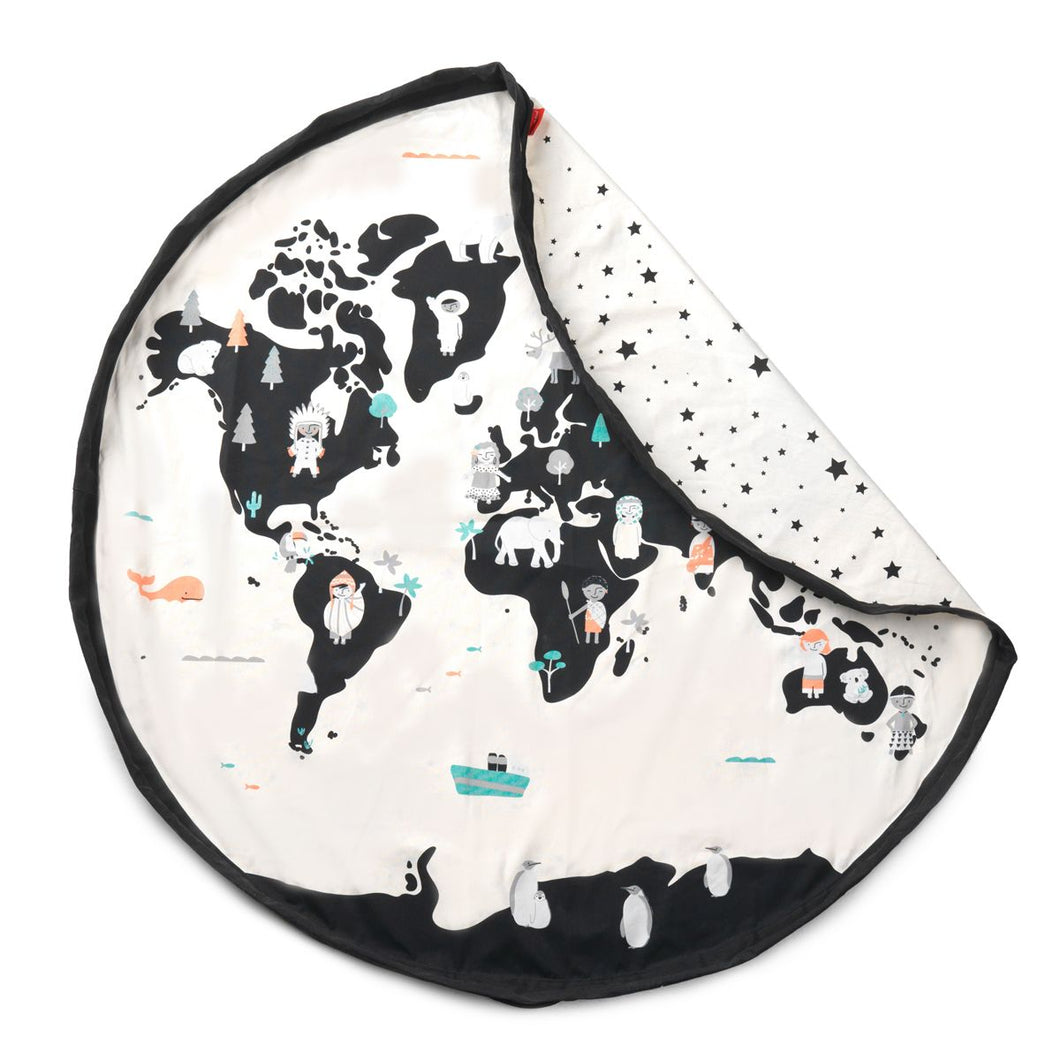 Worldmap Toy Storage Bag