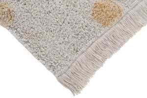 Washable rug Hippy Dots Natural