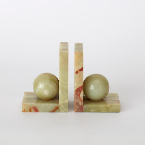 Vintage Onyx Bookends
