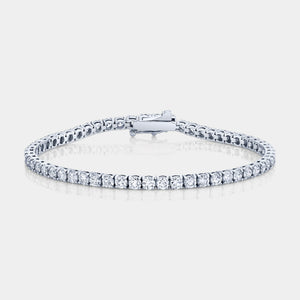 5ct Round Diamond Tennis Bracelet