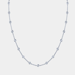 Station Diamond By The Yard Necklace