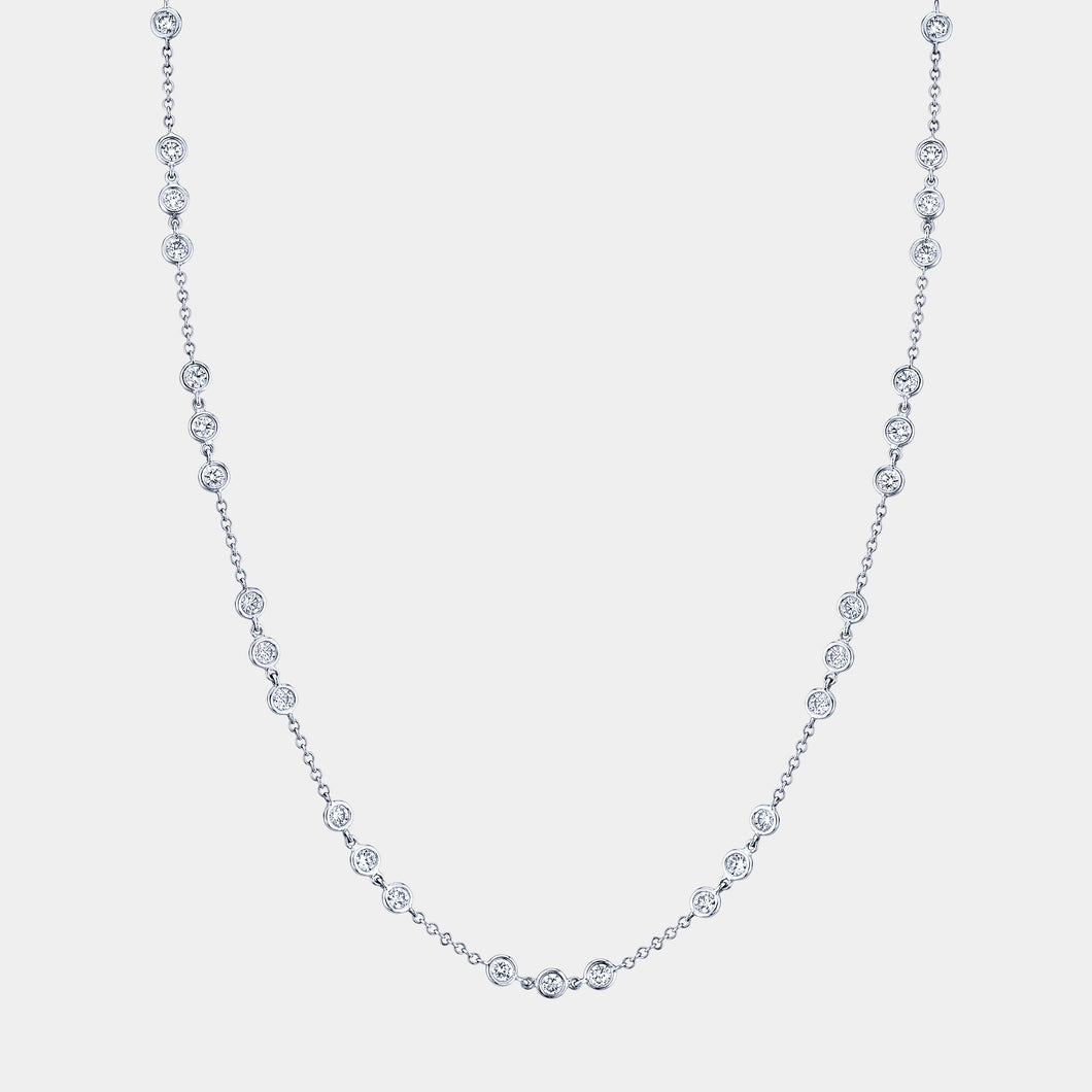 Trio Diamond By The Yard Necklace