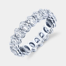 Load image into Gallery viewer, 3.5 ct Oval Cut Diamond Eternity Band