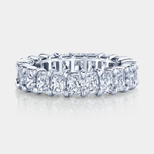 Load image into Gallery viewer, 5 ct Radiant Cut Diamond Eternity Band