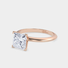Load image into Gallery viewer, Princess Cut Solitaire