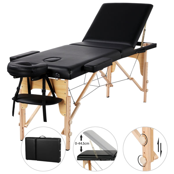 Adjustable Massage Bed 3 Sections