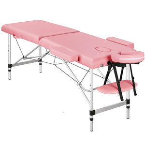Adjustable Pink Massage Bed Spa Table-Costoffs