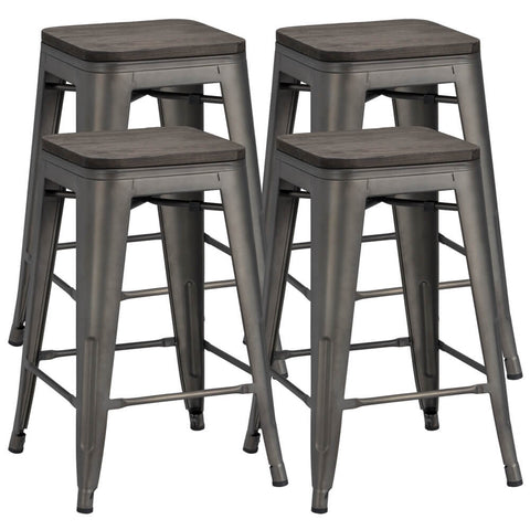 Metal Counter Stools 24 Inch-Costoffs