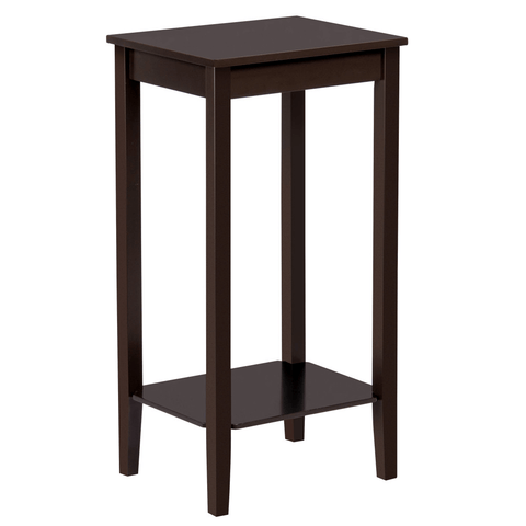 Wood Nightstand Side End Table-Costoffs